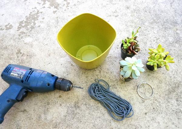 Инструменты для изготовления подвесного кашпо