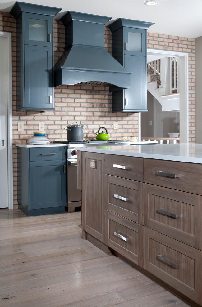 Красивое оформление кухонного пространства в стиле эклектика
