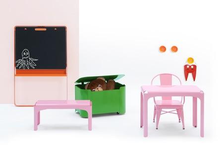 Современная мебель от Tolix не боится дождя