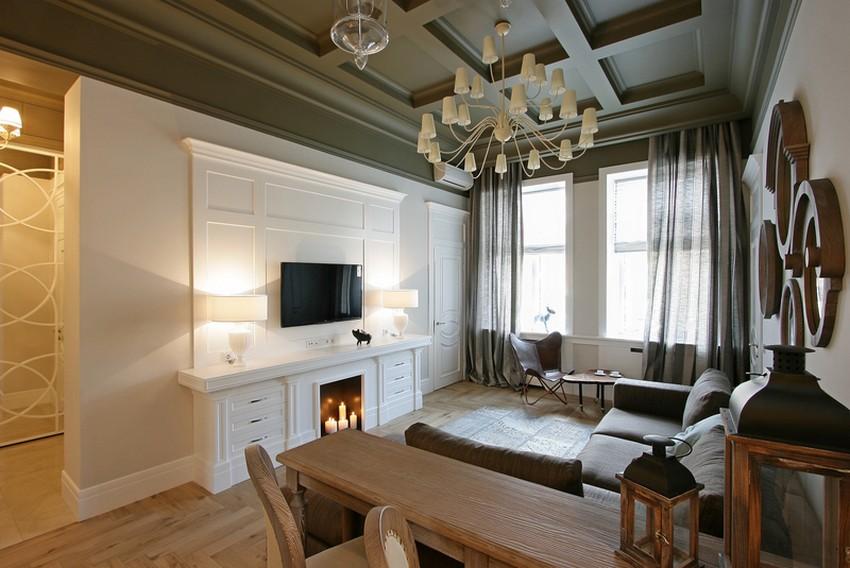 Дизайн интерьера квартиры в Украине