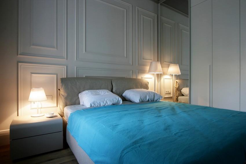 Дизайн интерьера спальни в квартире в Украине