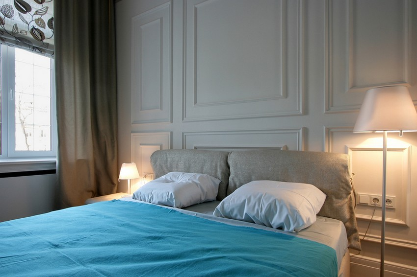 Дизайн интерьера спальной комнаты в квартире в Украине