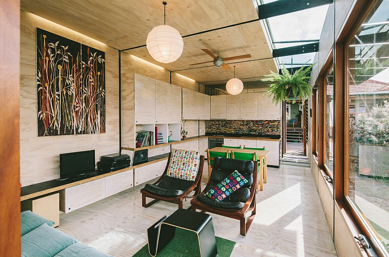Яркий дизайн интерьера комнаты