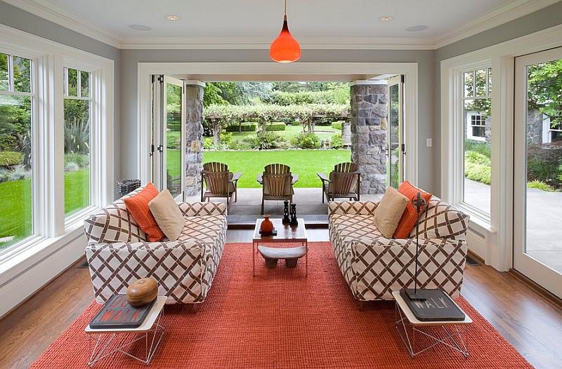 Красивый дизайн интерьера комнаты