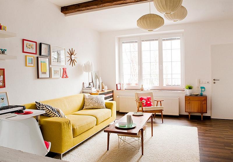 Оригинальный дизайн интерьера комнаты