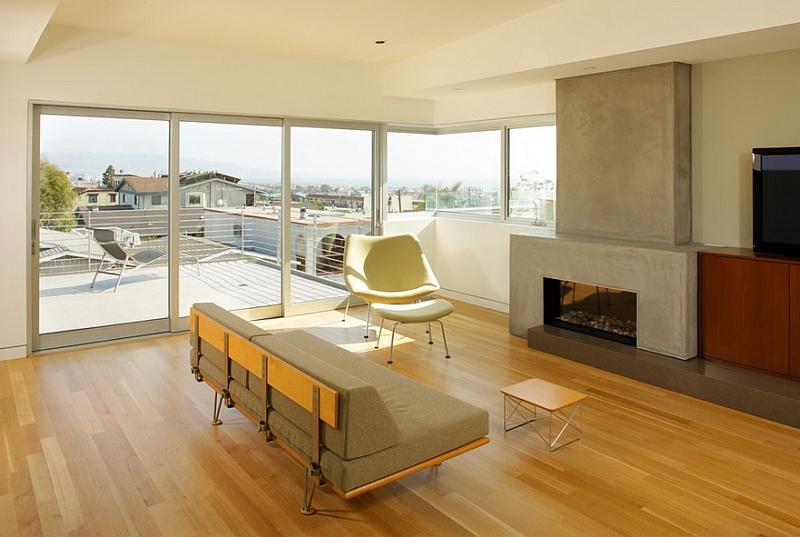 Необычный дизайн интерьера комнаты