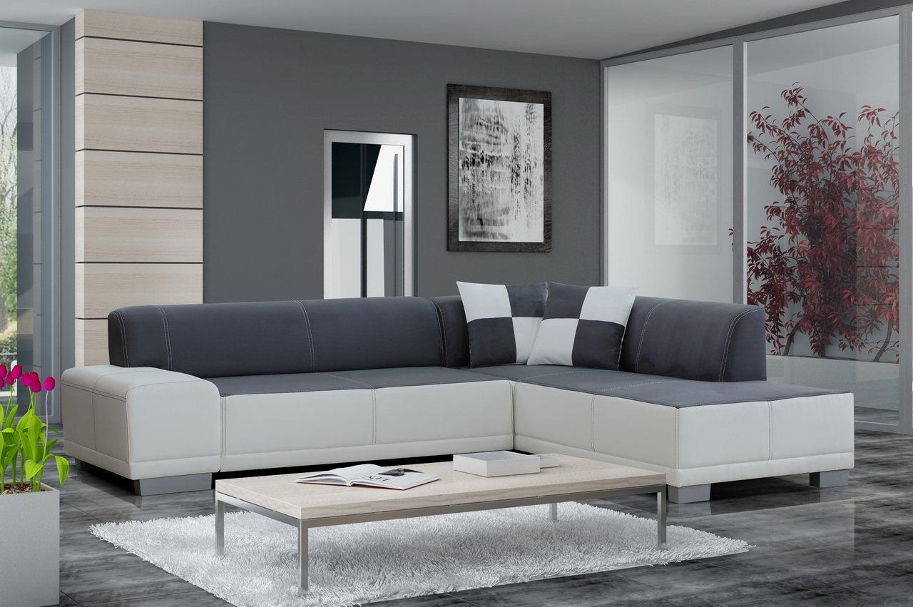 Восхитительный мягкий угловой диван в интерьере