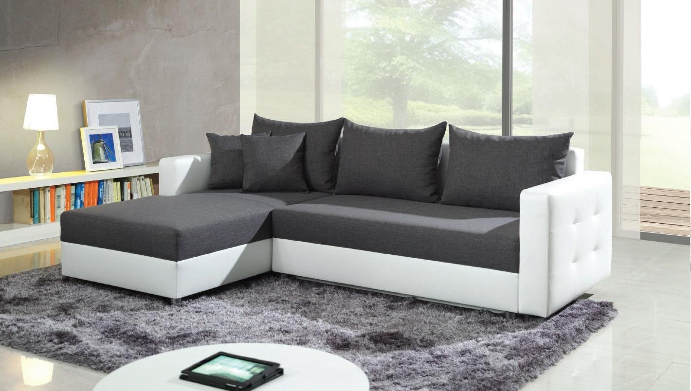 Головокружительный мягкий угловой диван в интерьере
