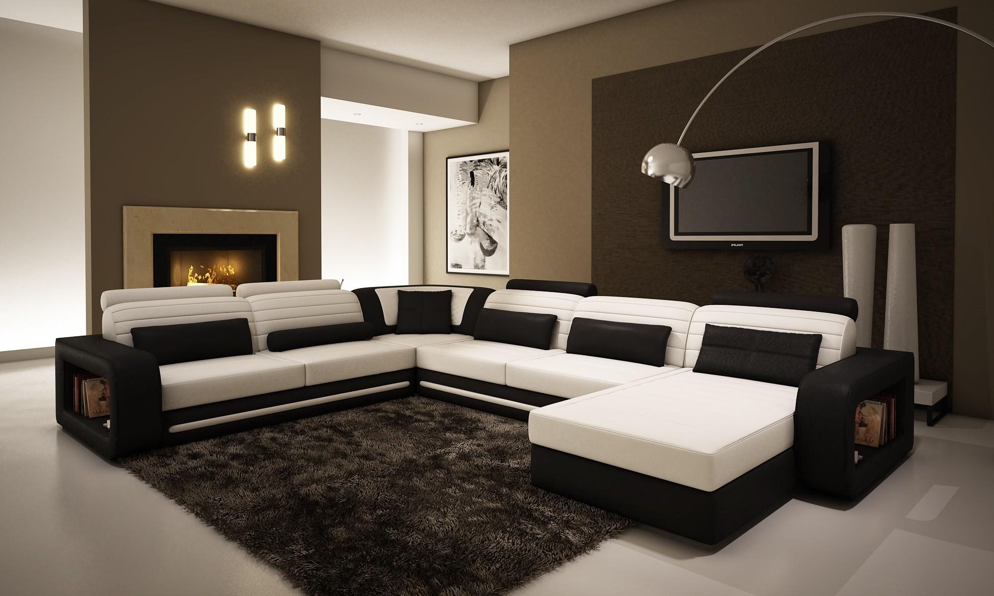 Умопомрачительный мягкий угловой диван в интерьере