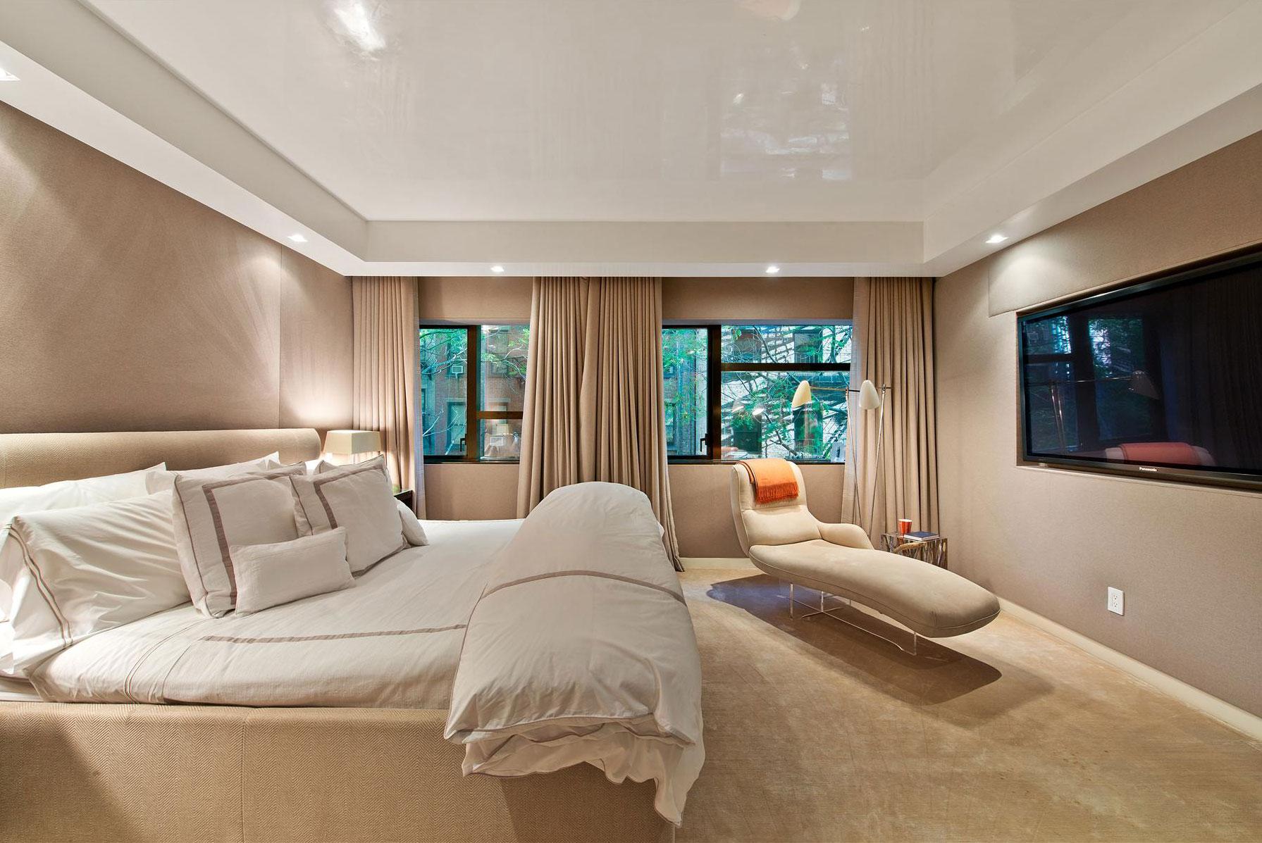 Прекрасные шторы в дизайне интерьера помещения