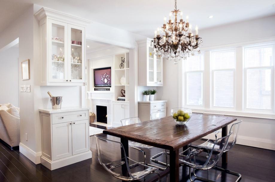 Удивительный интерьер столовой в викторианском стиле