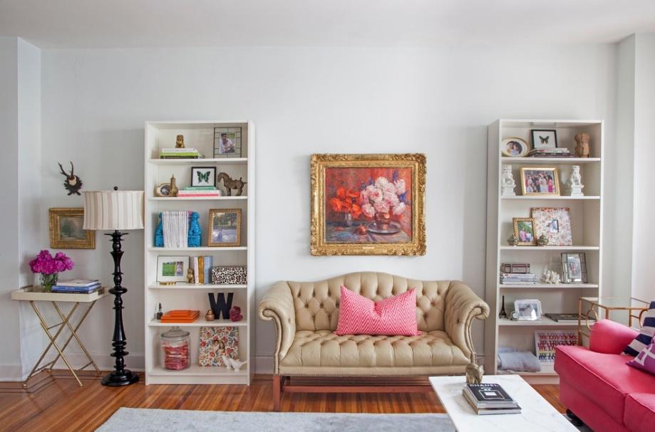 Уникальный интерьер гостиной в викторианском стиле