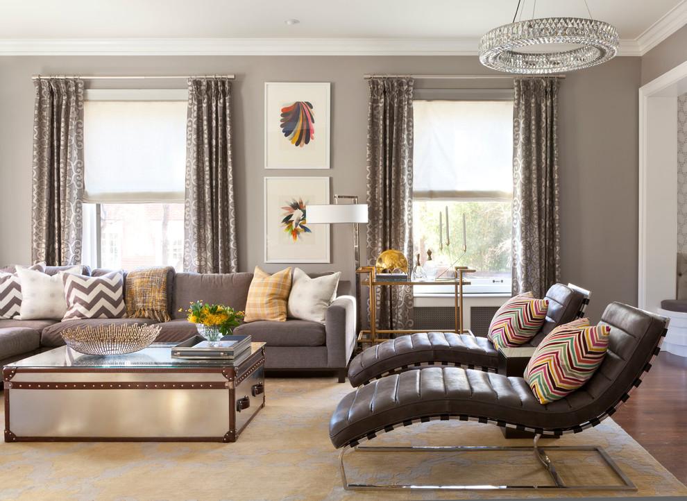Модные интерьеры: роскошная гостиная
