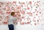 Молли Хэтч: декоративные мозаики из старинного фарфора