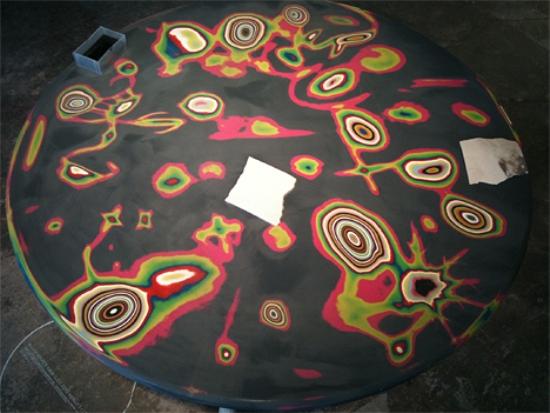 Молодёжный дизайн стола от Эда Суона: конечный результат