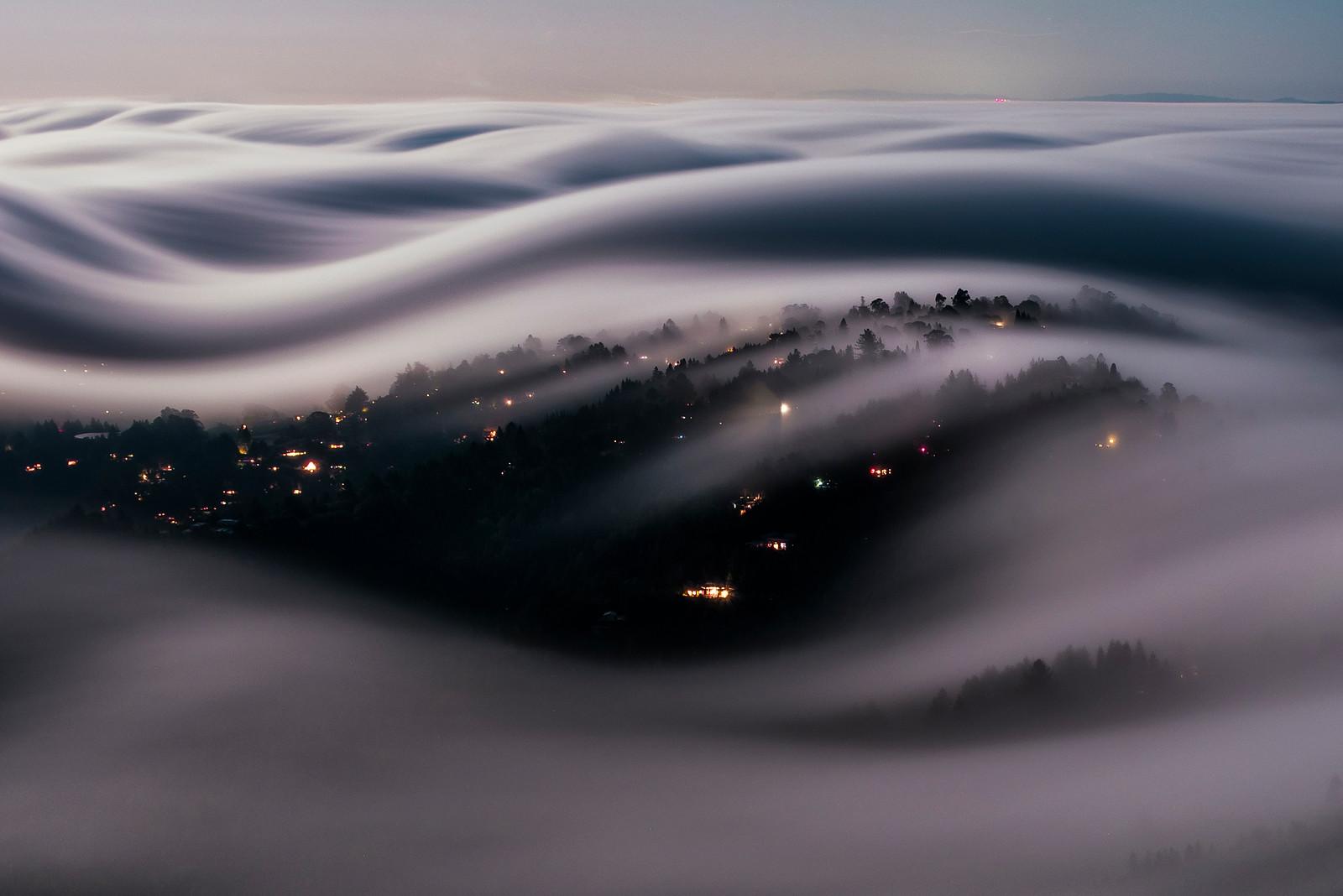 Лоренцо Монтедземоло: сюрреалистический туманный пейзаж на фотографии с длинной выдержкой