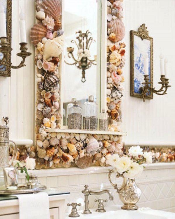 Превосходное зеркало в морском стиле