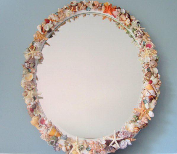 Замечательное зеркало в морском стиле