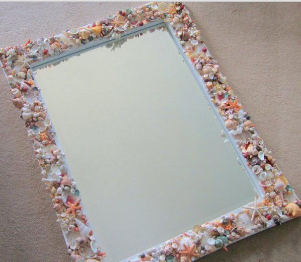 Бесподобное зеркало в морском стиле
