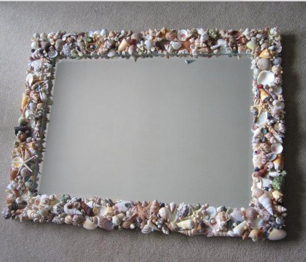 Изысканное зеркало в морском стиле