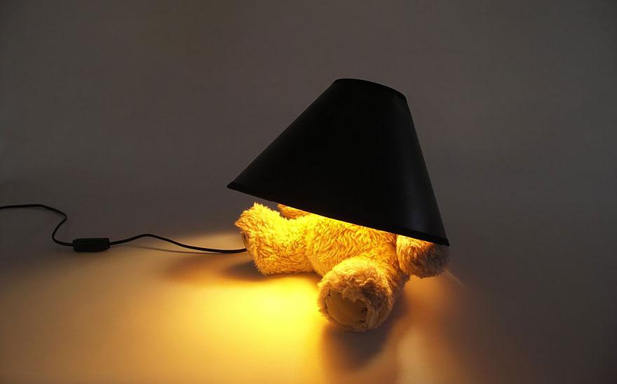 Удивительный дизайнерский светильник