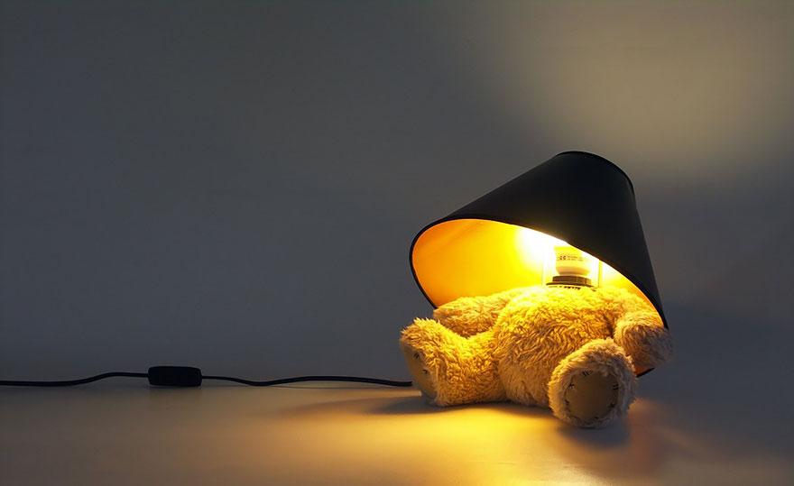Прекрасный дизайнерский светильник