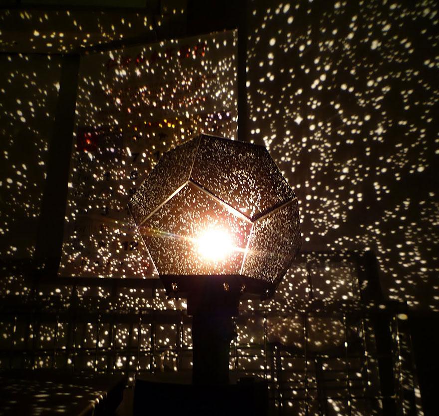Волшебный дизайнерский светильник