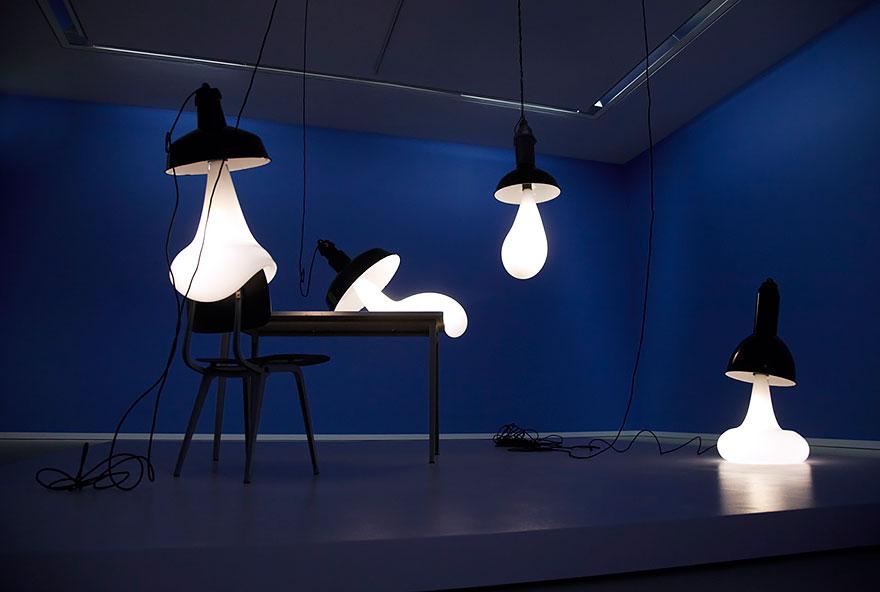 Головокружительные дизайнерские светильники