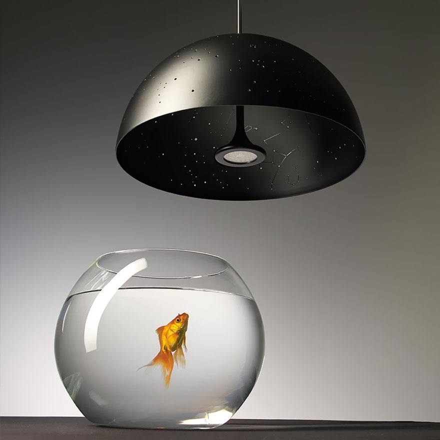 Сказочный дизайнерский потолочный светильник