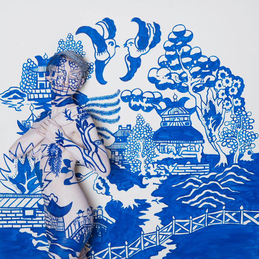 Бодиарт от художницы из Сан-Франциско Trina Merry