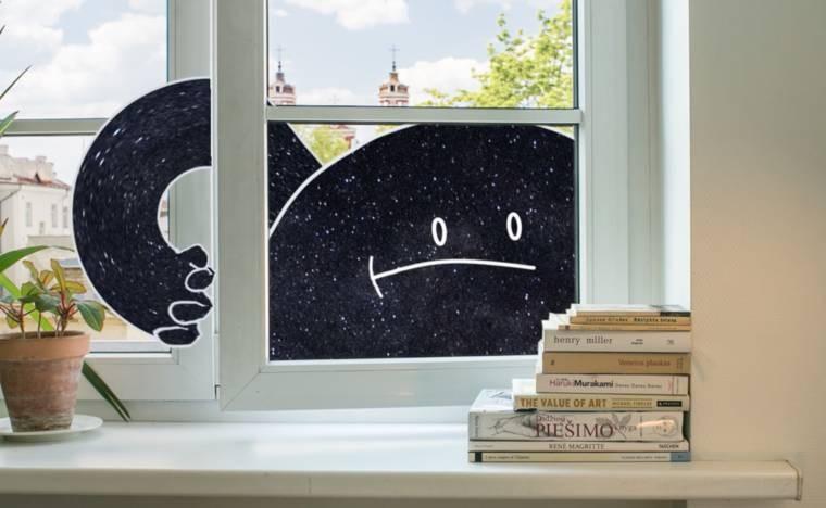 Mr. Night has a Day off: комедийный ролик литовского аниматора Игнаса Мейлунаса