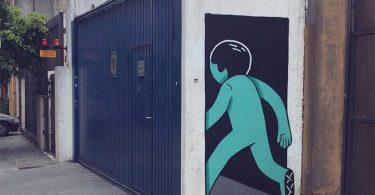 Muretz: забавные рисунки на стенах