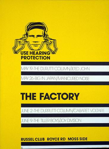 Музыкальные плакаты Питера Сэвилла для Factory Records - Фото 3