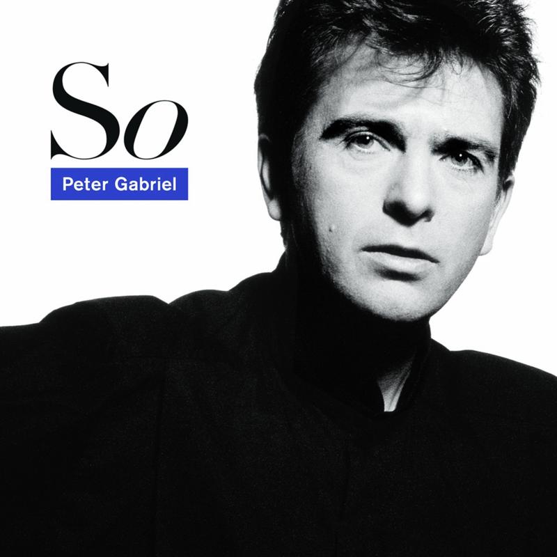 Музыкальные плакаты Питера Сэвилла для альбома Габриэля «So»