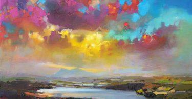 Скотт Нейсмит: пейзажи Шотландии в многослойной мелодии цвета