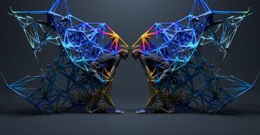 Анимированные 3D-фигуры: кадры из ролика Makin 'Moves от Коухеи Накама