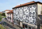 NeSpoon: кружевные мотивы позитивных художественных интервенций в городскую среду