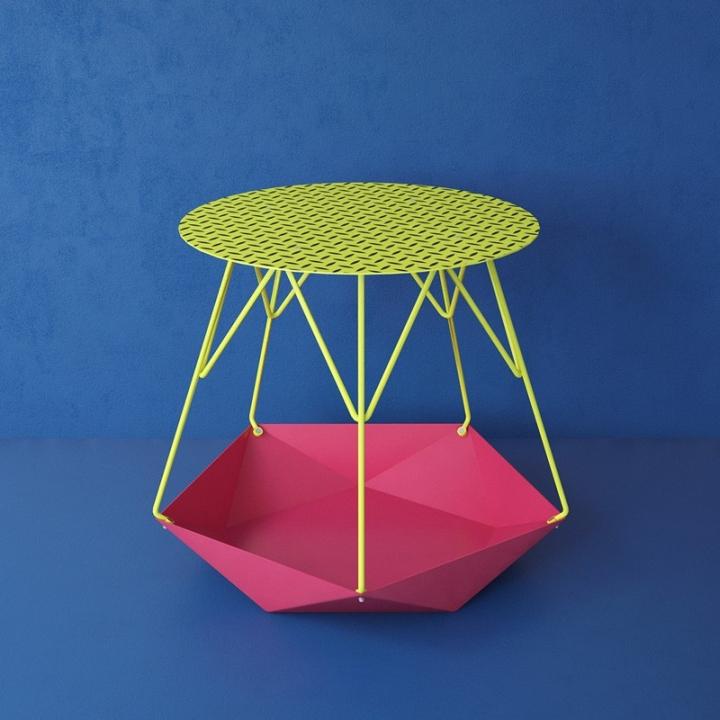 Необычный столик KRATER от Levantin Design