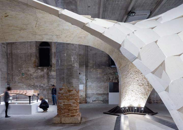 Необычная инсталляция - новое слово в архитектуре