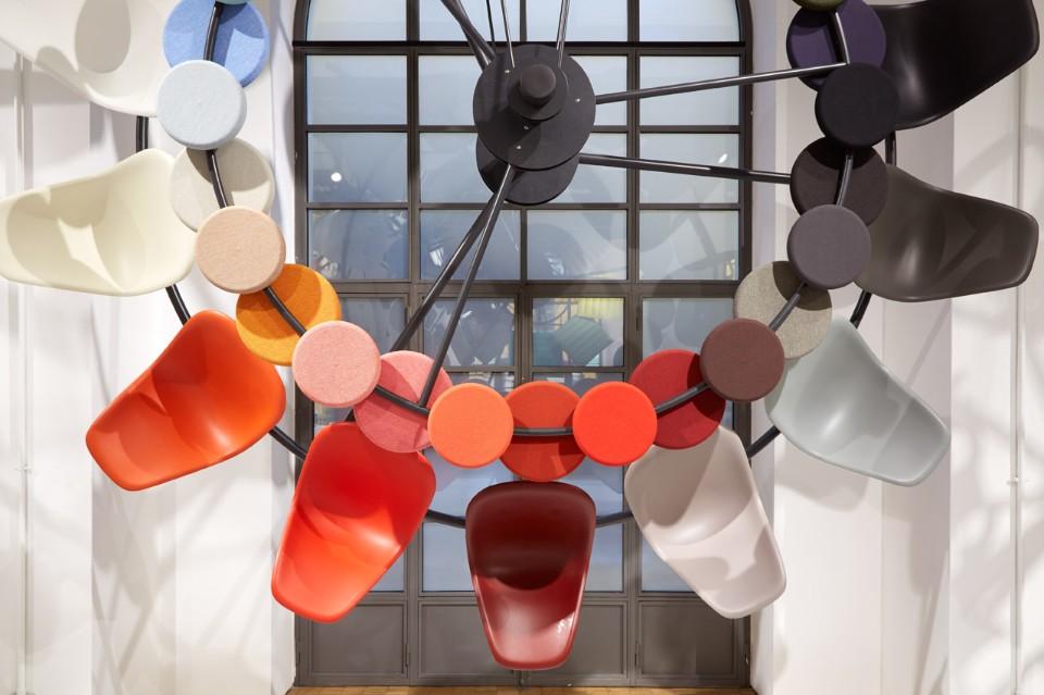 Необычное оформление выставки цветов в Милане - фото 5