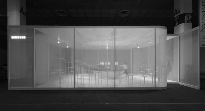 Интересное оформление выставки: фото. Сеул