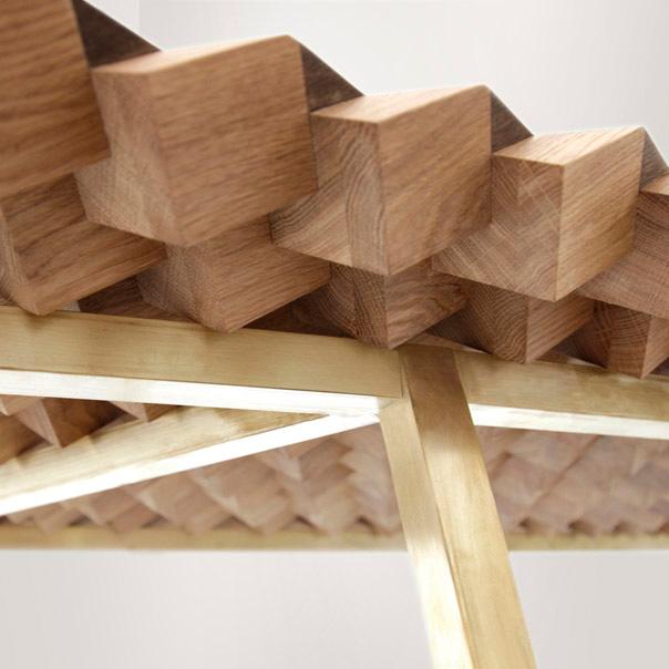 Необычный дизайнерский стол для вашего дома: вид снизу