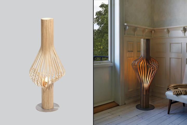 Необычный торшер от норвежских дизайнеров