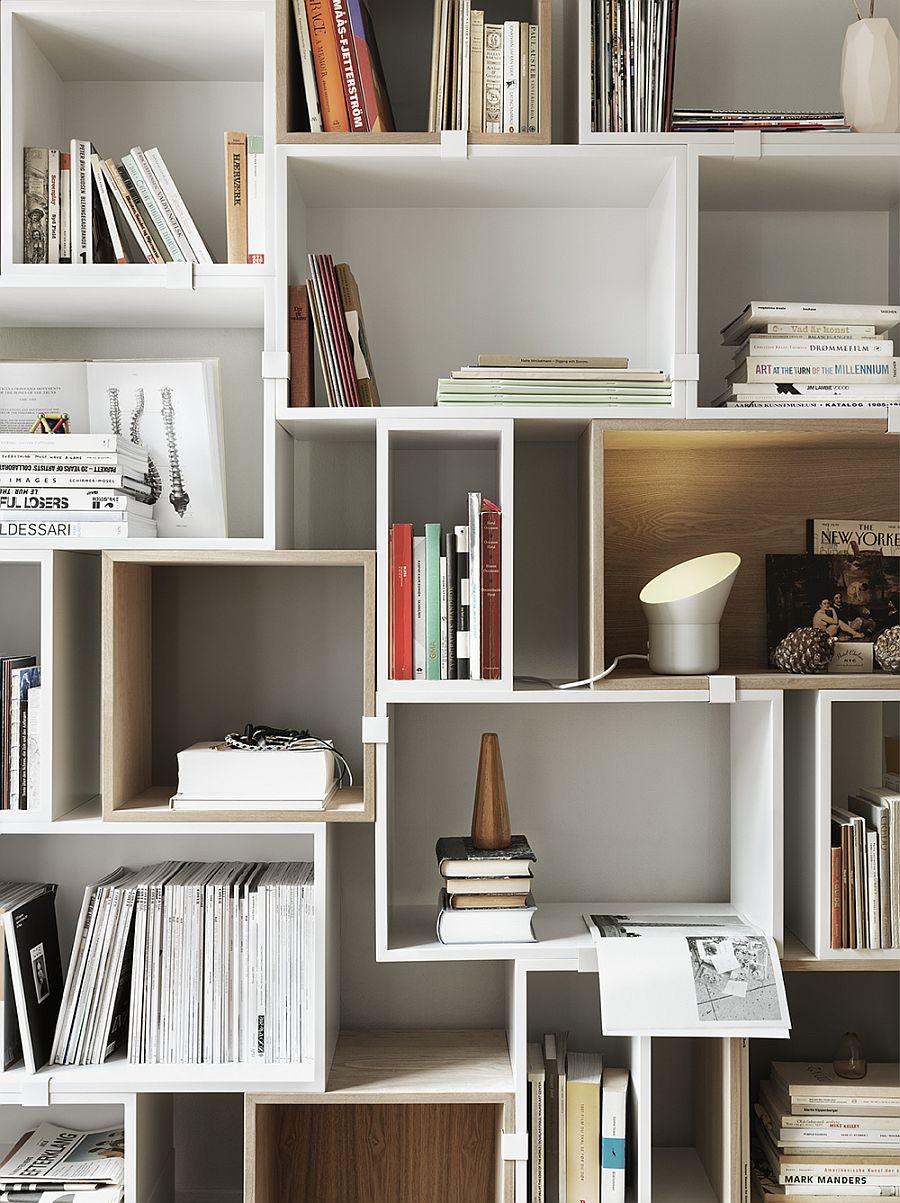 Свет в интерьере квартиры: идея настольной лампы