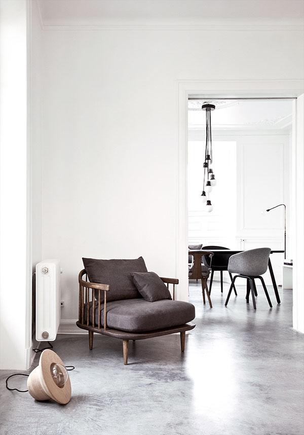 Свет в интерьере квартиры: идея от Norm Architects