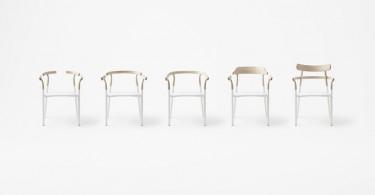 Яркий пример минимализма в мебели – необычные стулья Twig