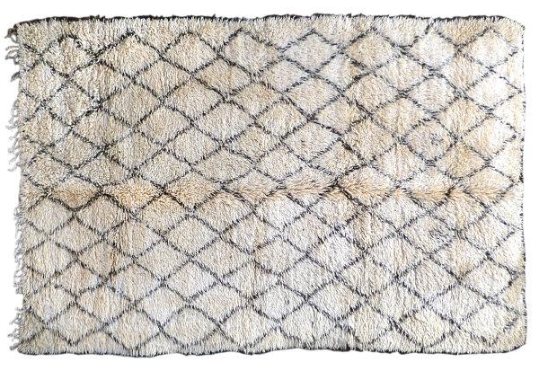 Мягкий ковёр с геометрическим узором