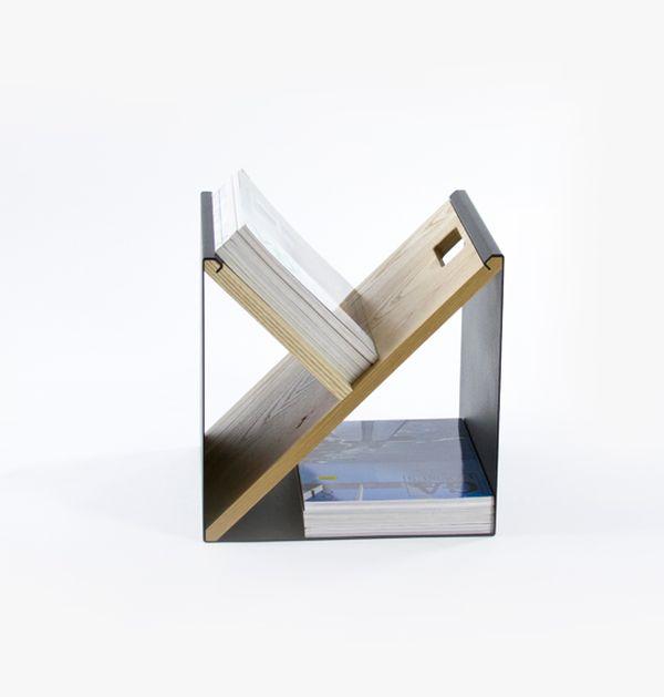 Восхитительный стальной табурет от Noon Studio