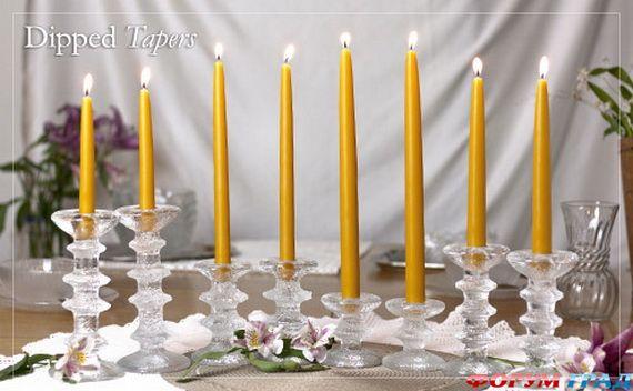 Новогодние свечи для праздничного интерьера - Фото 2