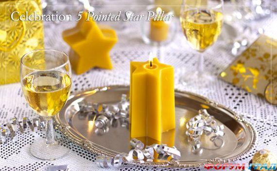 Новогодние свечи для праздничного интерьера - Фото 4